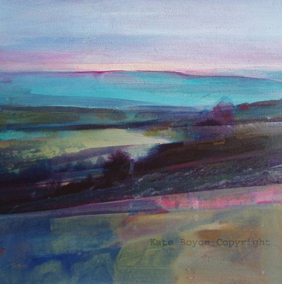 Light Through The Mist Over Calder Valley.( Limited Edition Archival Print size 1)