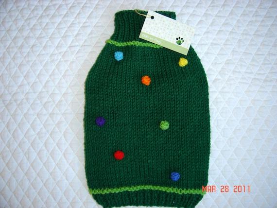 Dog Sweater  - Medium   - Dots