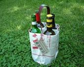 Four Hole Wine Bottle Carrier