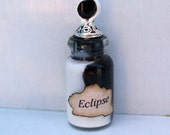 Gothic Witch Eclipes spell bottle dollhouse miniature halloween