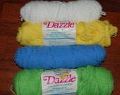 Reserved for lindaphcc-Vintage Dazzle Yarn-CLOSEOUT buy at best offer
