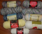 Reserved for lindaphcc-Lot of Worsted Yarn-CLOSEOUT-buy at best offer