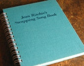 Vintage Book Journal .. Jean Ritchie's Swapping Song Book