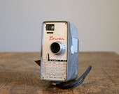 Vintage Movie Camera .. Tower 8mm Movie Camera .. Plus 2 Rolls of 8mm Film