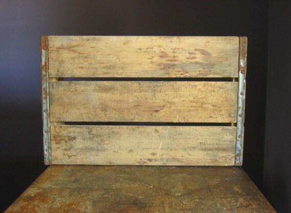 Vintage Wood Crate Pepsi Cola