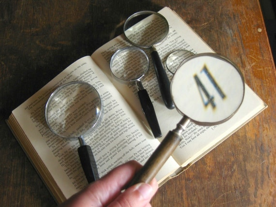 Instant Vintage Magnifying Glass Collection