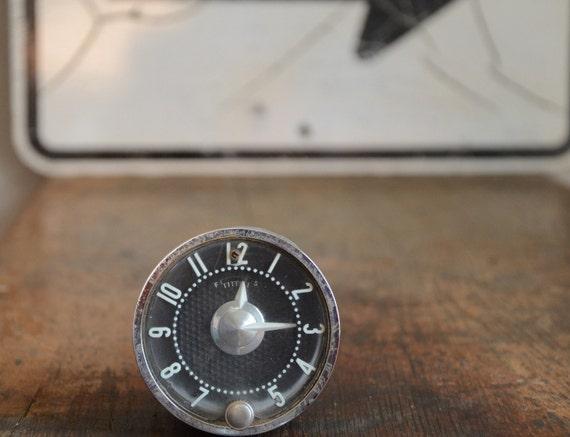 Vintage Automobile Clock .. Industrial Chic