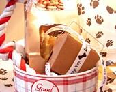 Dog Treats Gift Baskets Dog Toy Dog Bowl Organic Non-toxic