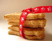 Purest Dog Treats--FREE SHIPPING--1 Dozen Dog Biscuits, Healthy, Vegetarian Dog Biscuits