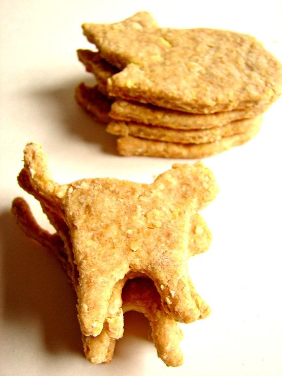 Dog Treats--Bag 'O Cats--Peanut Butter & Cheddar Flavor--All Natural Organics-6oz