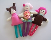 Wee Sisters Three Doll Pattern PDF