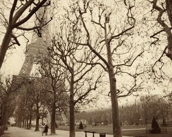 Eiffel Tower, Sunday Stroll - The Holga Suite