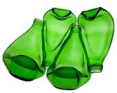 Recycled glass bottle bowl - 4bottle Bowl