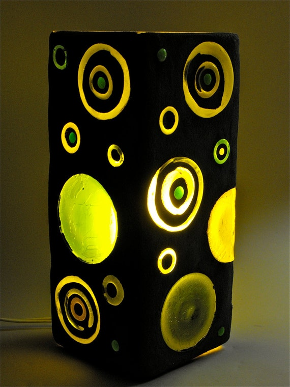 Recycled Glass Lamp - Greencentric