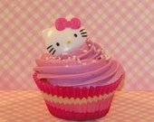 Hello Kitty Ring Cupcake Toppers  (12)