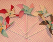 A Stitch In Time Pinwheels  (10)  LAST SET