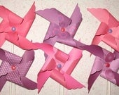 It's a Hot Pink Day Pinwheels  - 12