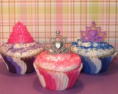 Princess Tiara Ring Toppers  (12)   Last Package