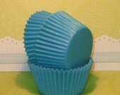 Lt. Turquoise Designer Heavy Duty Cupcake Liners   (40)