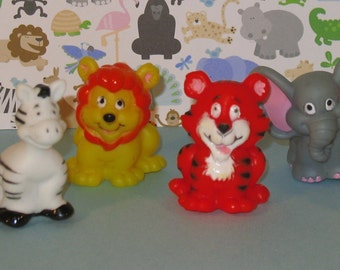 Jungle Animal Finger Puppets   (6 pcs)