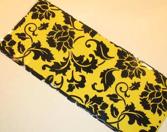 Black Floral Brocade Cellophane Gift Bag (Qty 15) Cellophane Gift Bags, Cellophane Bags, Party Favor Bags, Decorative Cellophane Gift Bags