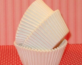 White Cupcake Liners  (45)