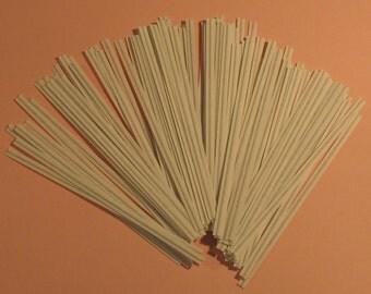 White Paper Twist Ties   4 inch
