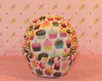 Sweet Cupcake Baking Cups  (40)  LAST PKG