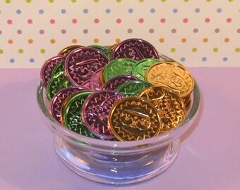 Mardi Gras Coins  (12)