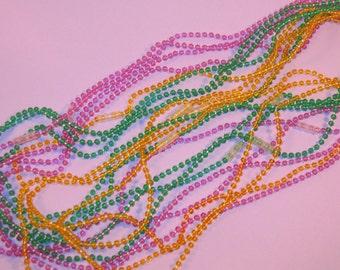 Mardi Gras Bead Strands  (12)