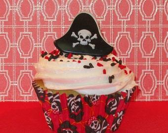 Pirate Ring Cupcake Topper  (12)