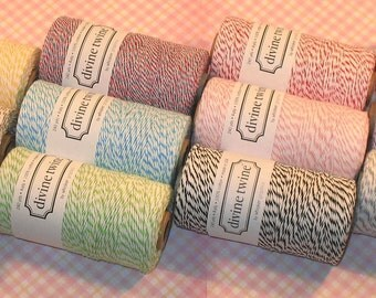 Divine Twine - 12 Colors - 5 Yds Each -  (total 60 yards)