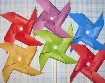 Butterfly Paradise Pinwheels - 12