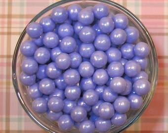 Edible Pearl Lavender Sugar Candy Beads  (3 oz)  Cupcake or Cake Candy Beads, Cupcake or Cake Toppings