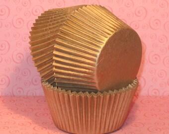 Gold Sheen Cupcake Liners (40)