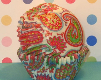 Hilliary Paisley Cupcake Liners by Vestli House  (20)