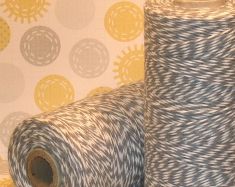 Stone Gray Bakers Twine by The Twinery  (240 YD Roll)