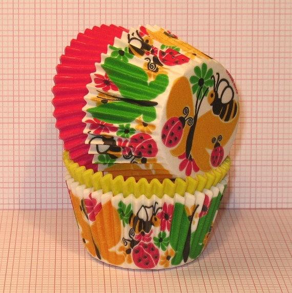Butterfly Brites Asst Cupcake Liners  (32)
