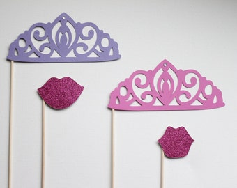 Photo Booth Prop. Photobooth. Photo Prop. Pretty Pretty Princess Photo Booth Set