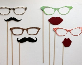 Photobooth  Party Props - The Double Date
