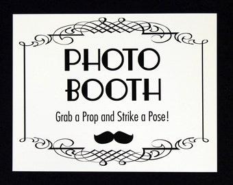 Photo Booth Sign. Photo Booth Prop. Photobooth Prop. Wedding Decor. Wedding Photos