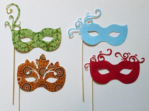 Mardi Gras, Masquerade, Carnival Mask - Group 2