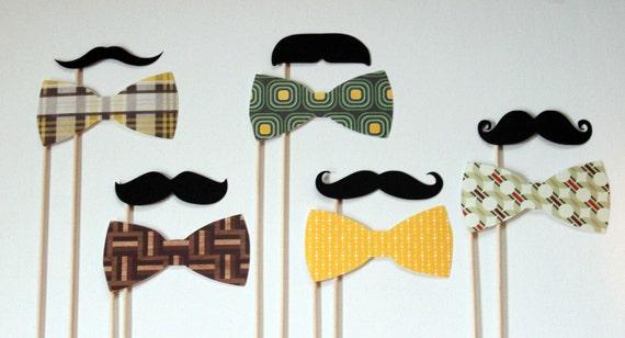 Photo Booth Props. Photo Booth. Photo Props. Mustache on a Stick