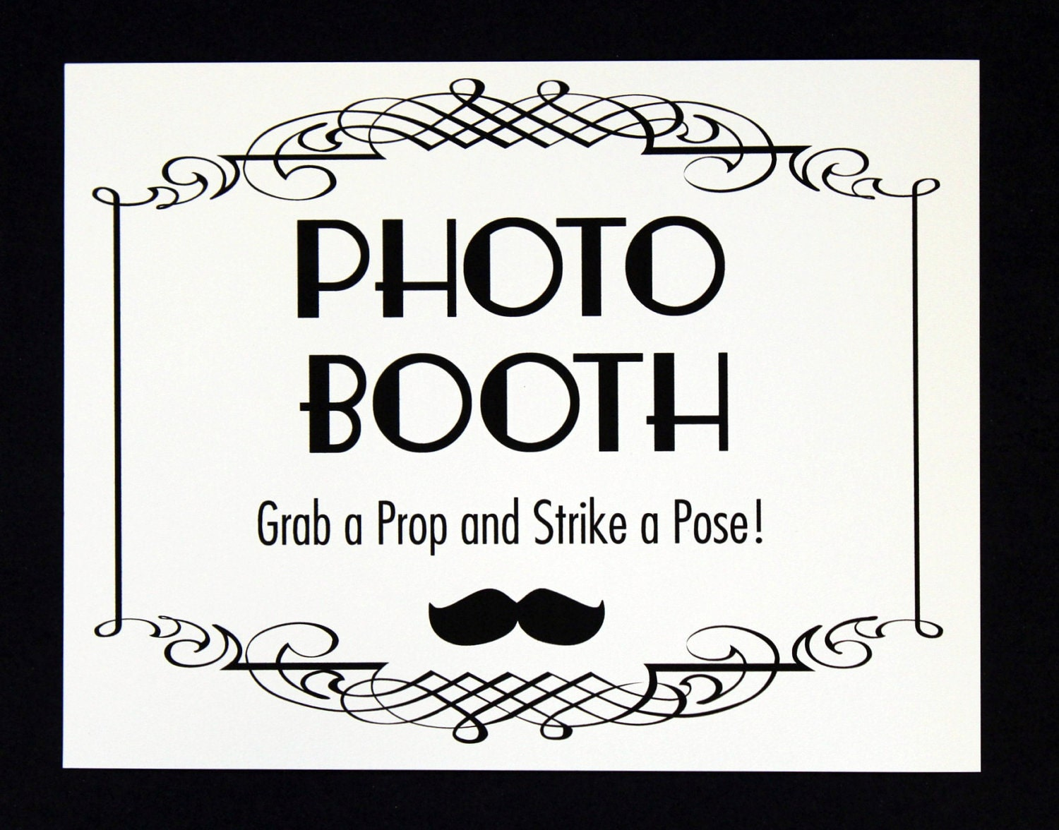 photo booth sign photo booth prop photobooth by littleretreats. Black Bedroom Furniture Sets. Home Design Ideas