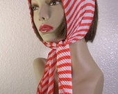 Vintage Candy Striped Scarf