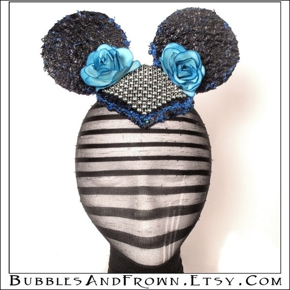 Deconstructed Mouse... Minnie Mouse Inspired Fascinator Hat