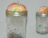 Swanky Catchall Pincushion Jar