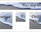 Etsy Banner set beach theme, ocean art, seaside, wave, graphic art, branding, graphic design