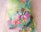 handmade journal/ book - enchanted  florabunda fantasy