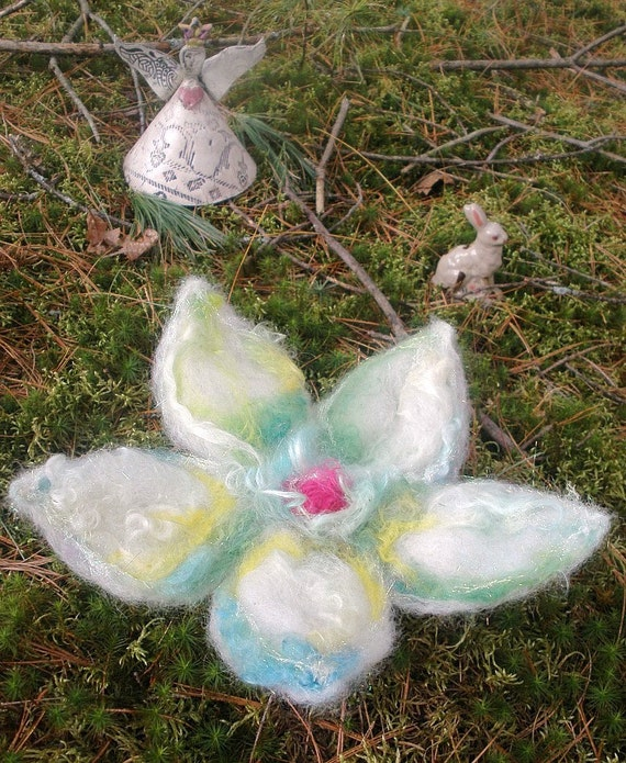 sparkling petal fairy nest from the enchanted forest